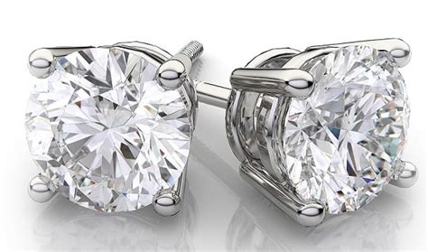 Gold Sweepstakes - diamond stud earrings in 18kt white gold sweepstakes freebies ninja