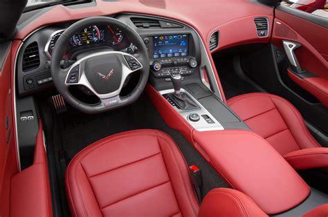 Corvette Interiors by 2016 Chevrolet Corvette Z06 Spice Design Package