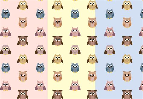 owl pattern vector free download free owl pattern vector download free vector art stock