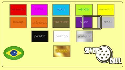 colors in portuguese portuguese classes colors in portuguese