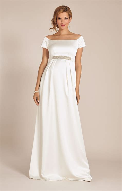 Wedding Dress Clothing by Maternity Wedding Gown Ivory Maternity Wedding