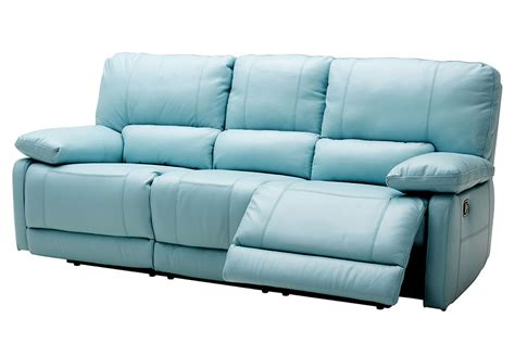 blue reclining sofa blue reclining sofa thesofa