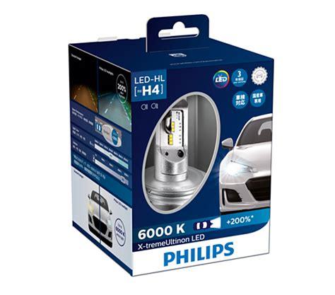 treme ultinon led headlight bulb bwx philips