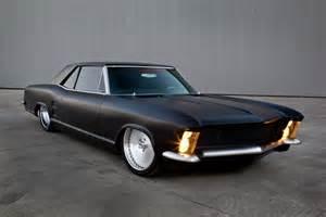 A Buick Fesler Built 1963 Buick Riviera Custom Rod Matte Black Ls1