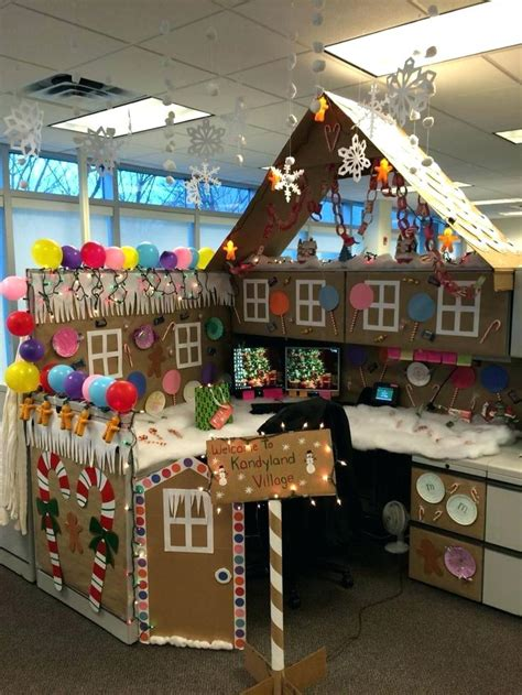 christmas cubicle decorating contest ideas decoration office decoration ideas