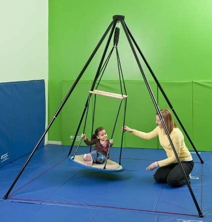 vestibular swing vestibular therapeutic swings balance therapy indoor