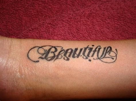 beautiful disaster tattoos ambigram tattoos beautiful disaster www pixshark