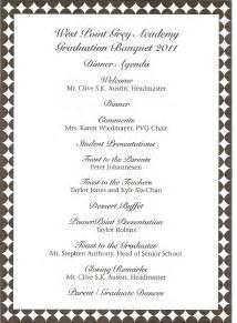 athletic banquet program template church banquet program sle