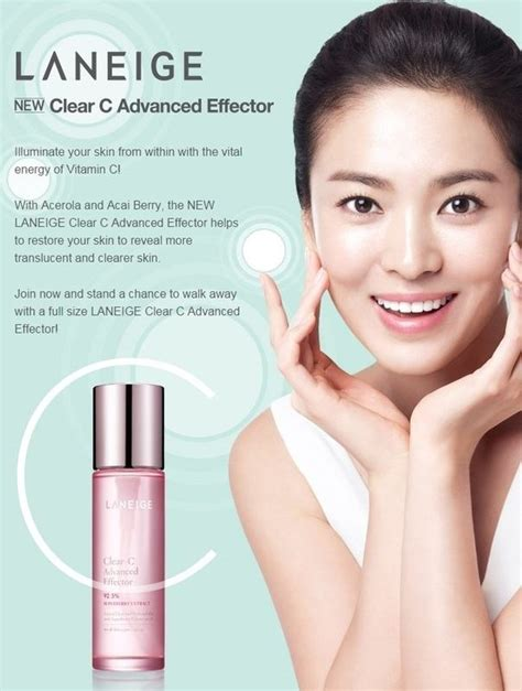 Laneige Clear C laneige clear c advanced effector new 150ml q depot