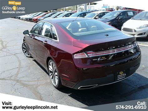 lincoln mkz reserve dr car  gurley leep automotive family