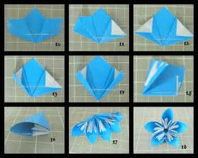Easy Origami Flower Step By Step - craft ideas for all kusudama flowers in a vase