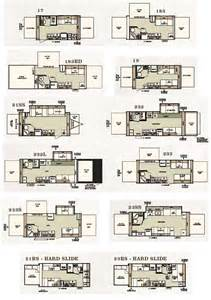 Forest River Travel Trailers Floor Plans by Forest River Shamrock Expandable Travel Trailer Floorplans