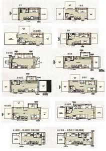 Expandable Floor Plans forest river shamrock expandable travel trailer floorplans large