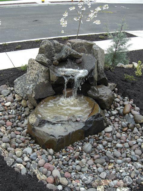 Water feature photos landscape design construction vancouver wa