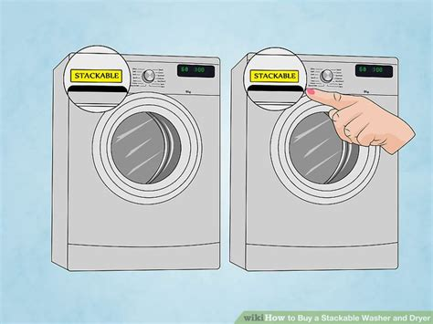 how is a washer and dryer how to buy a stackable washer and dryer 10 steps with