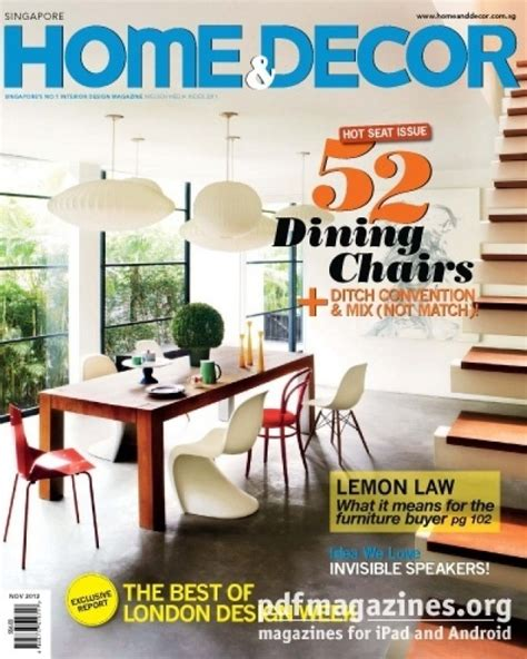 home decor magazines list xam