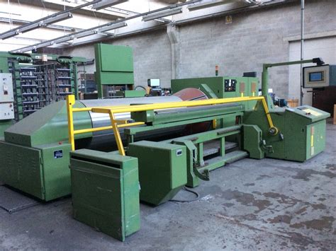 sectional warping used karl mayer eom econ o matic sectional warping machine