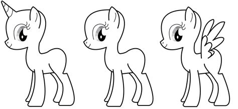 ms paint mlp body coloring coloring pages