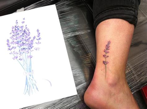 lavender tattoo lavender maybe for my momma permanent
