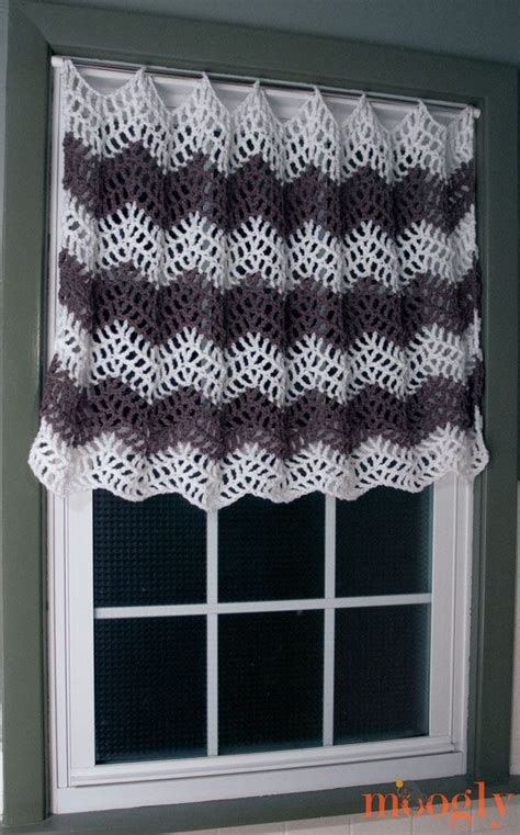 8 Free Crochet Curtain Patterns Crochet Kitchen Curtains