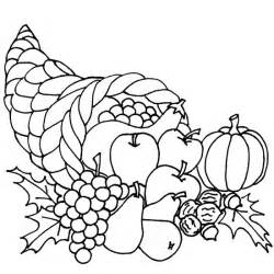 cornucopia coloring page thanksgiving coloring pages thanksgiving cornucopia