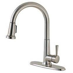 canadian tire kitchen faucets canadian tire peerless 174 pull kitchen faucet brushed nickel customer reviews product