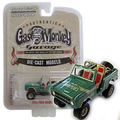 Greenlight Seri Gas Monkey Garage 1976 Ford Bronco 1976 ford bronco gas monkey garage quot peaks quot 1 64