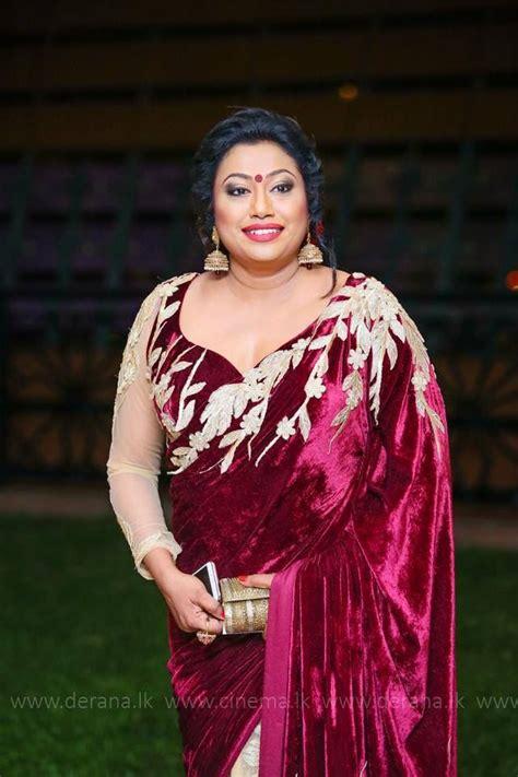 sri lankan actress saree designs 2018 nirosha wirajini sri lankan singer saree b s