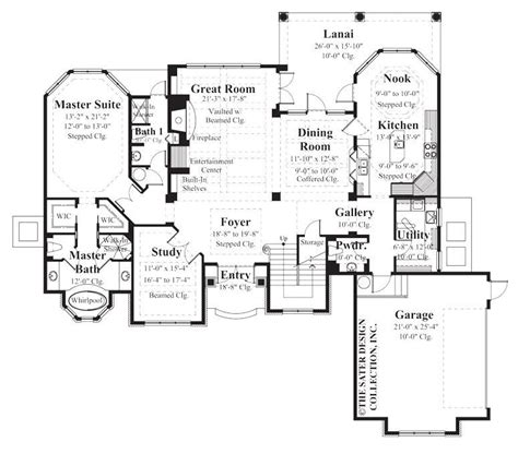 chadwick house plan home plan chadwick sater design collection