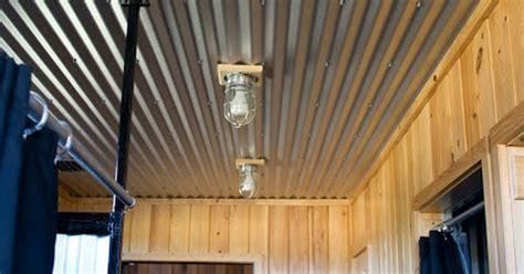 tin ceiling great idea outdoor bathroom ideas