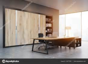 windows and doors ceo ceo office with wooden doors and a bookcase toned stock