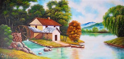 imagenes para pintar al oleo gratis im 225 genes arte pinturas cuadros decorativos quot paisajes al