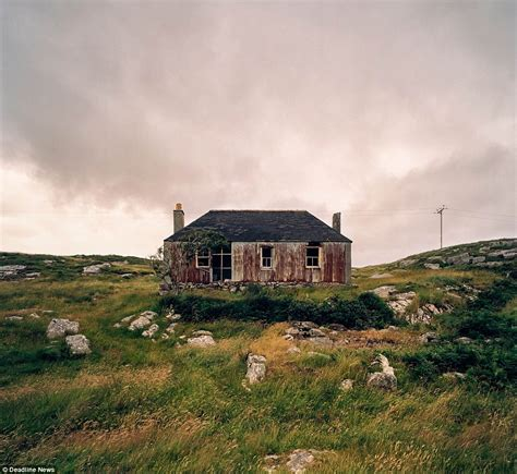remote scottish cottages photographer maher captures decay of remote scottish island homes daily mail