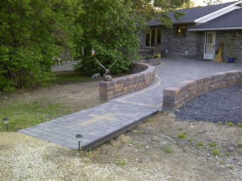Patio Pavers Minnesota 17 Best Images About Paving Stones Retaining Walls On
