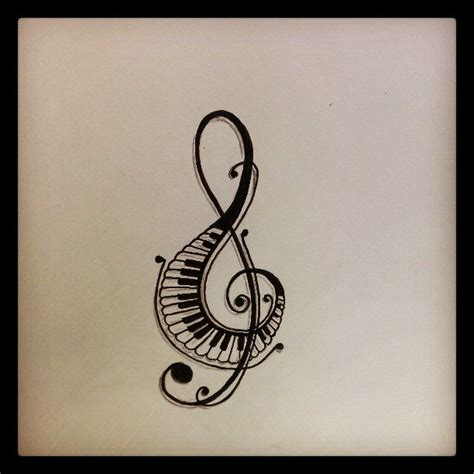 tattoo of music notes designs notes symbols tattoos clipart panda free clipart