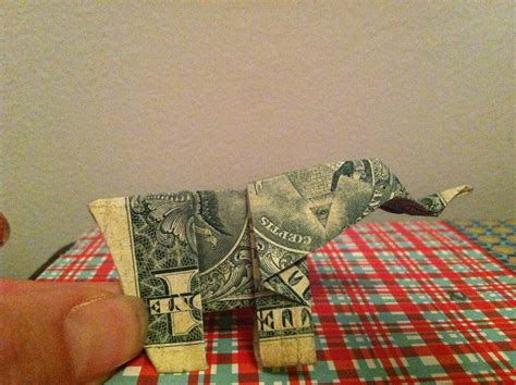 dollar bill elephant origami file dollar bill origami elephant jpg wikimedia commons