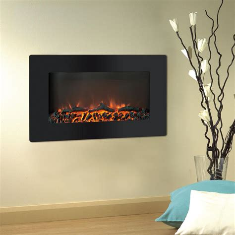 wall fireplace cambridge callisto 30 in wall mount electronic fireplace