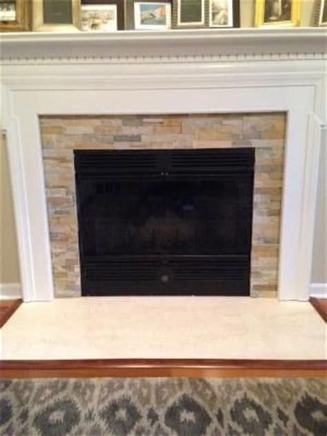 Quartz Ledgestone Fireplace by Shop Desert Quartz Ledgestone Wall Tile Common 6 In X 12