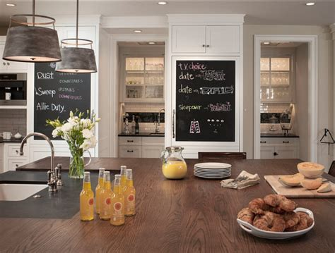 chalkboard paint kitchen ideas family home with beautiful interiors home bunch interior design ideas
