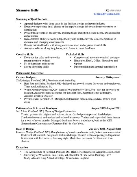 Resume Highlights resume format resume templates that highlight skills