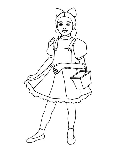 coloring pages dorothy