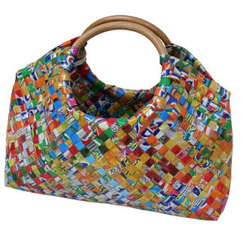 How to Recycle: Recycled Eco Friendly HandBags