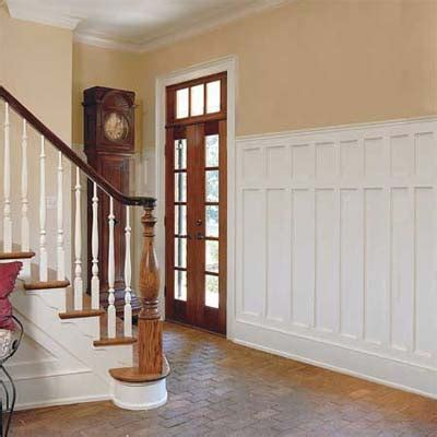 entry wainscoting designs   house