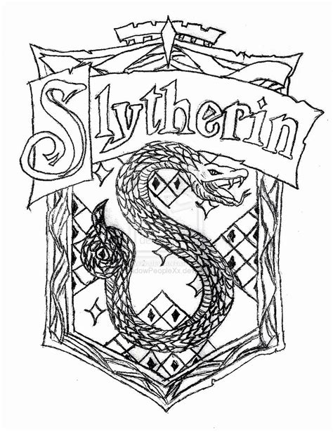 Hogwarts House Crest Coloring Pages Coloring Pages Gryffindor Coloring Pages