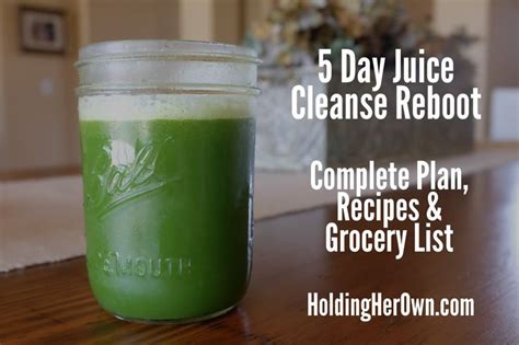 5 Day Detox Juice Cleanse by 5 Day Juice Cleanse Plan I Think I Am Going To Try This