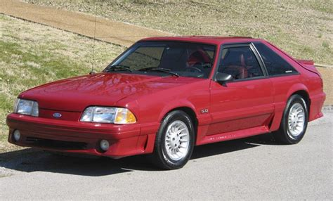 1987 ford mustang gt the top 10 sports cars of the 1980s