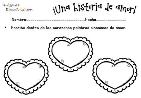 imagenes educativas san valentin fichas san valent 237 n 14 febrero 7 imagenes educativas