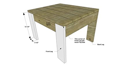 ottoman plans free diy furniture plans how to build a modern
