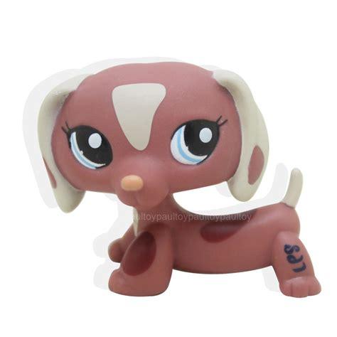 ebay lps dogs littlest pet shop brown dachshund puppy figure lps 1631 ebay