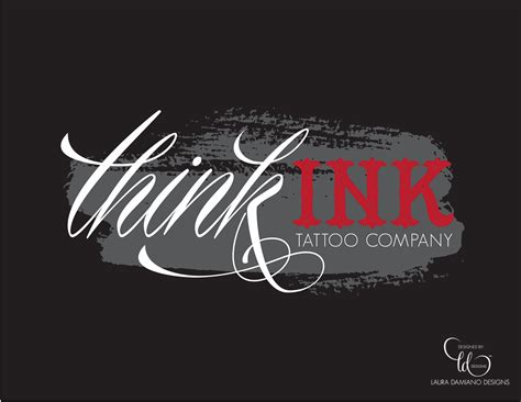 think ink tattoo company logo award winning bespoke
